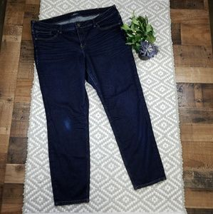 Silver Jeans Aiko Skinny 18 L29 Dark Wash Jeans